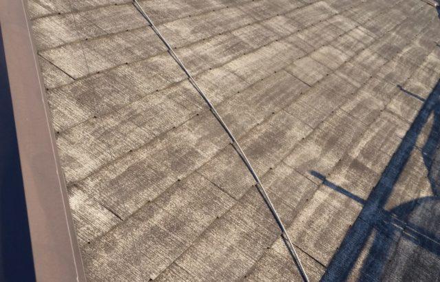 静岡県富士市 屋根塗装工事 高圧洗浄後の画像