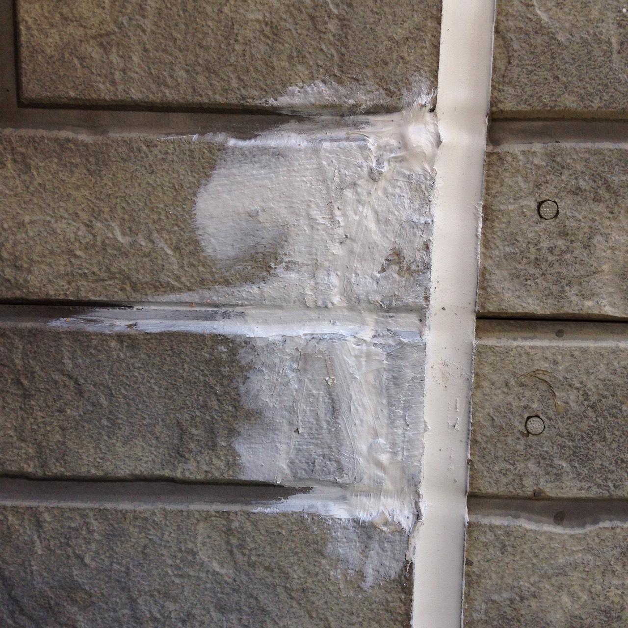 静岡県 御殿場市 外壁塗装 補修した外壁の写真