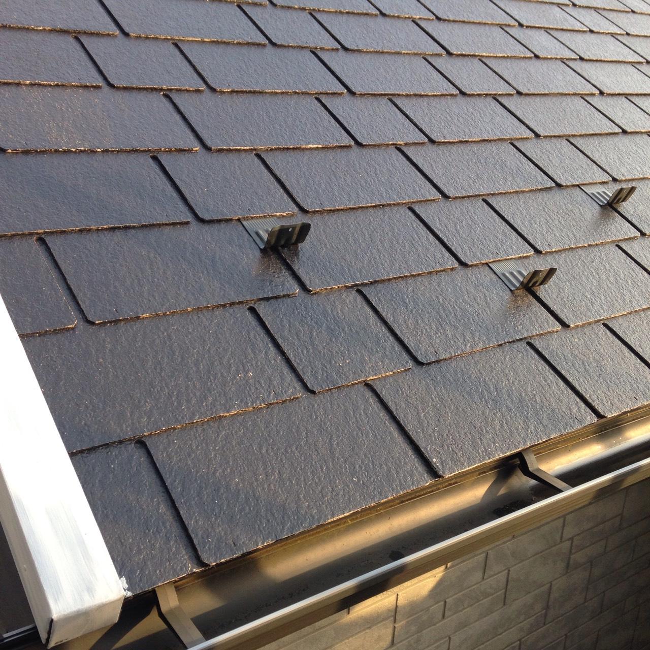 静岡県 御殿場市 水切り板金補修〜屋根塗装 完成写真