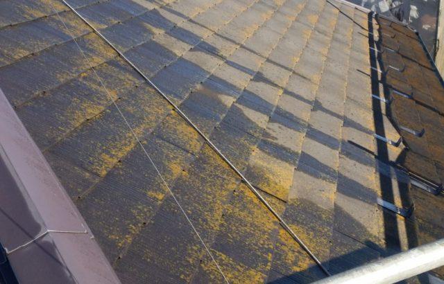 静岡県富士宮市既存屋根の写真